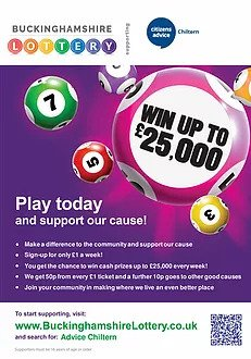 play buckinghamshire lottery image